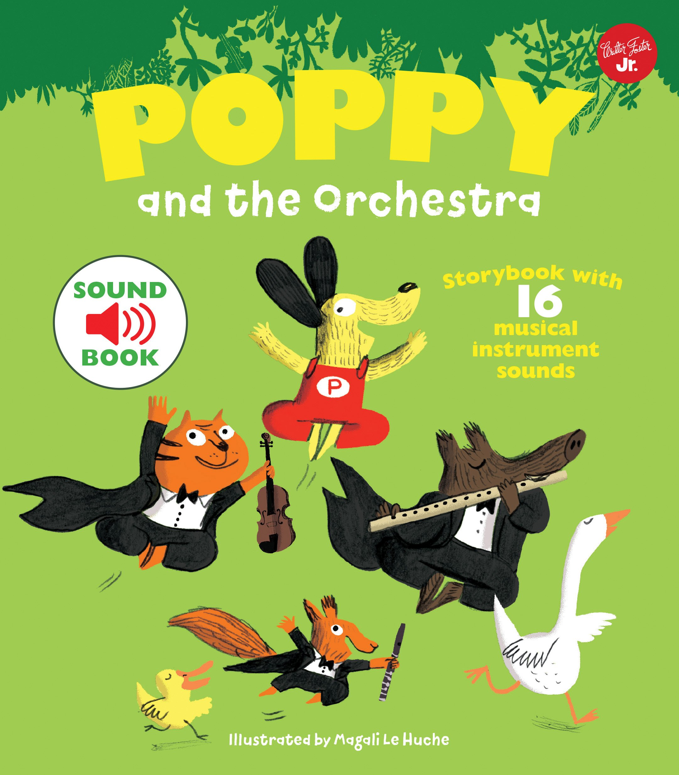 Amazon com: Poppy and the Orchestra: With 16 musical