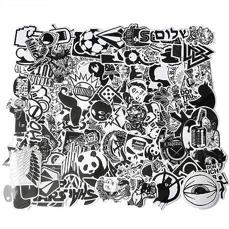 Cool Graffiti Pegatinas de Vinilo para Ordenador portátil, Casco, monopatín, Ordenador, teléfono