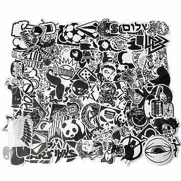 Cool Graffiti Pegatinas de Vinilo para Ordenador portátil, Casco, monopatín, Ordenador, teléfono o Bicicleta, Impermeable, Varios Pegatinas: Amazon.es: ...