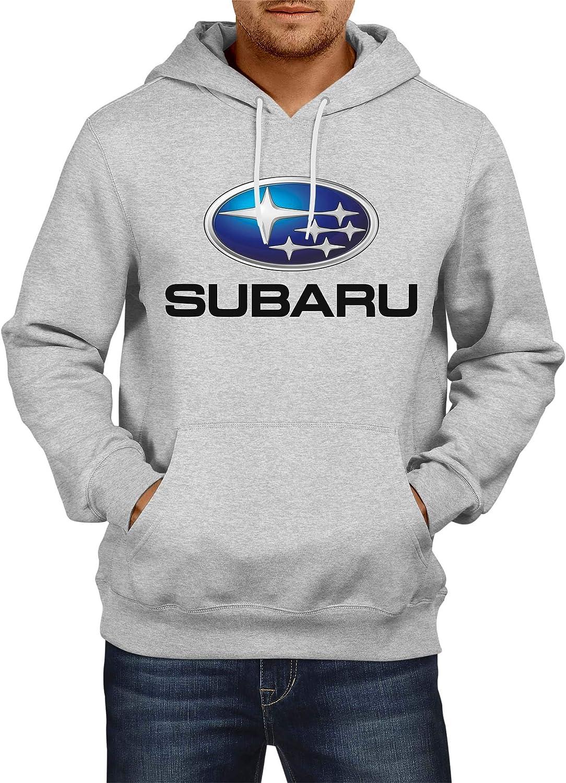 Sweatshirt Subaru Logo Hoodie Herren Men Car Auto Tee Black Grey Long Sleeves Present Christmas