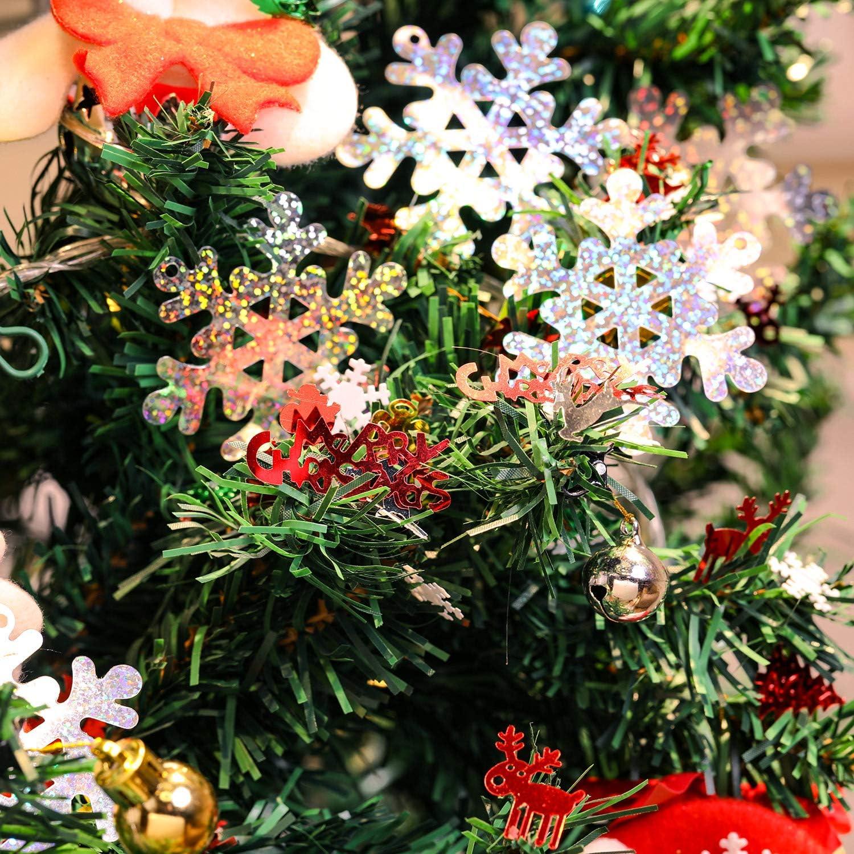 100g Confetti Di Natale Tavola Di Confetti Confetti Pentagramma Babbo Natale Renna Albero Di Natale Buon Natale Fiocco Di Neve Confetti Natale Glitter Mestieri Spruzza Scintillio Luminoso Decorazione