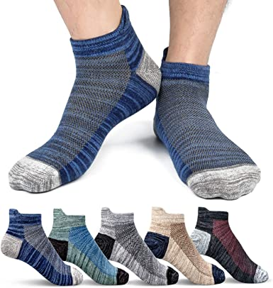 Hand knitted cotton Stretch short socks