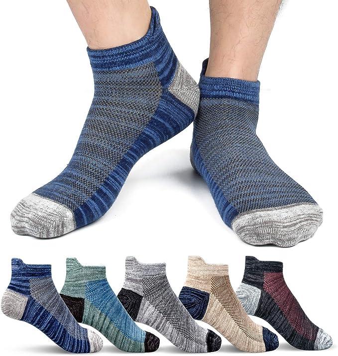 Sport men women Cotton ankle Socks Breathable Non-slip All season short mesh lot