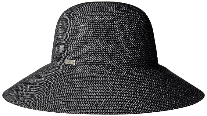 Betmar Women's Gossamer Sun Hat, Black, One Size