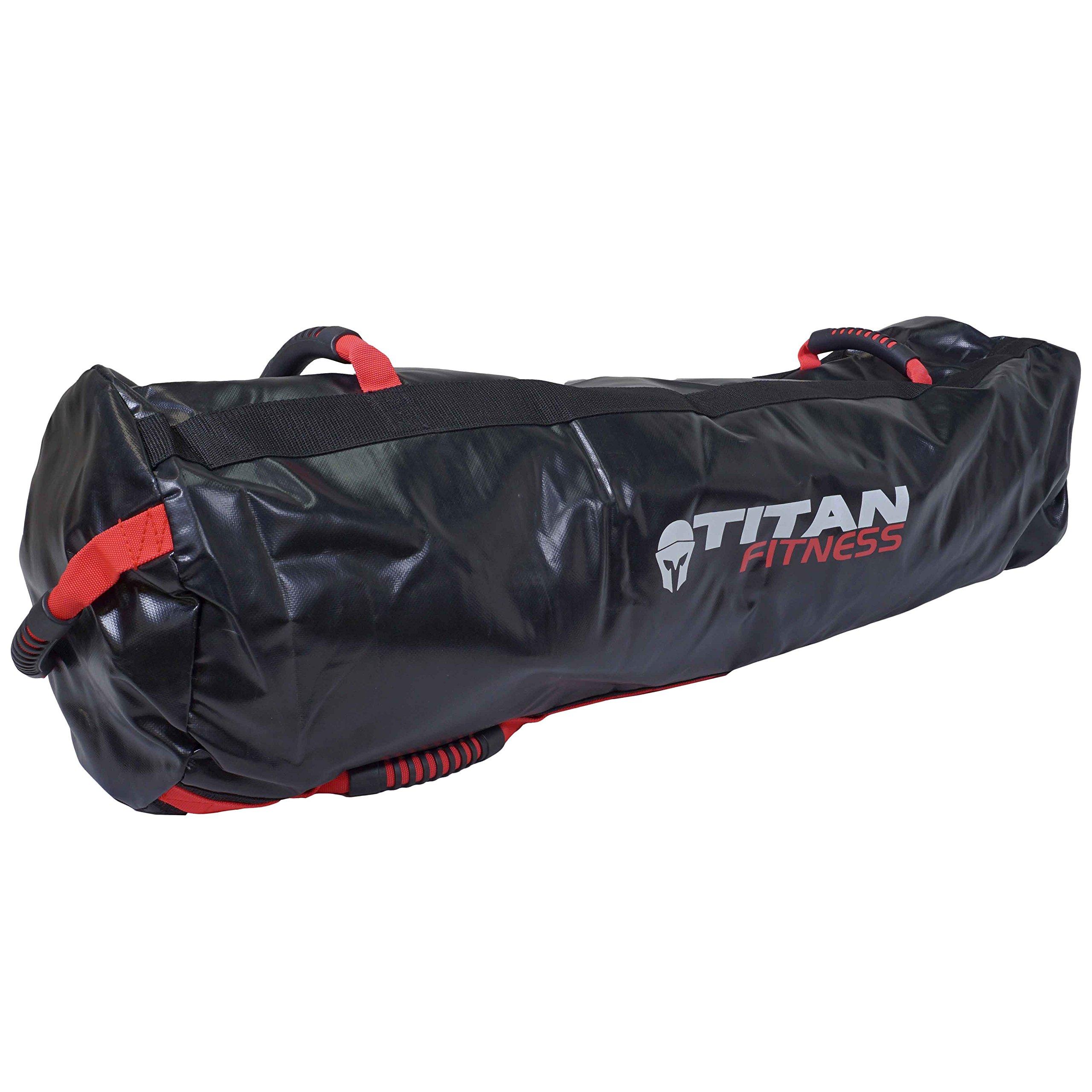 Titan Fitness 100 lb Heavy Duty Workout Weight Sandbag Exercise Training Bag