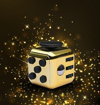 The ORIGINAL LUXURY GOLD Fidget Cube