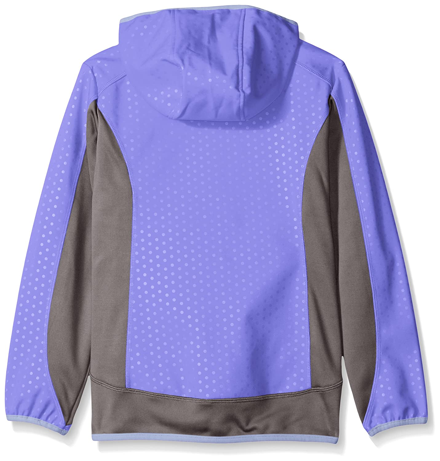 Buy Free Country Big Girls Embossed Dot Soft Shell Jacket Ultra Violet Xl 16 At Amazon In