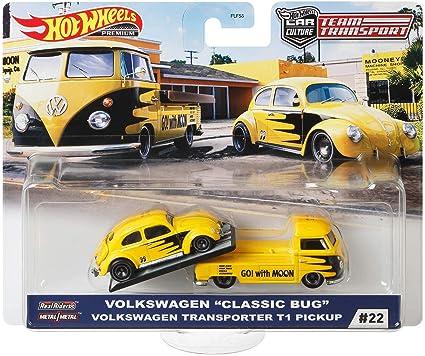 Amazon Com Hot Wheels Volkswagen T1 Vehicle Toys Games