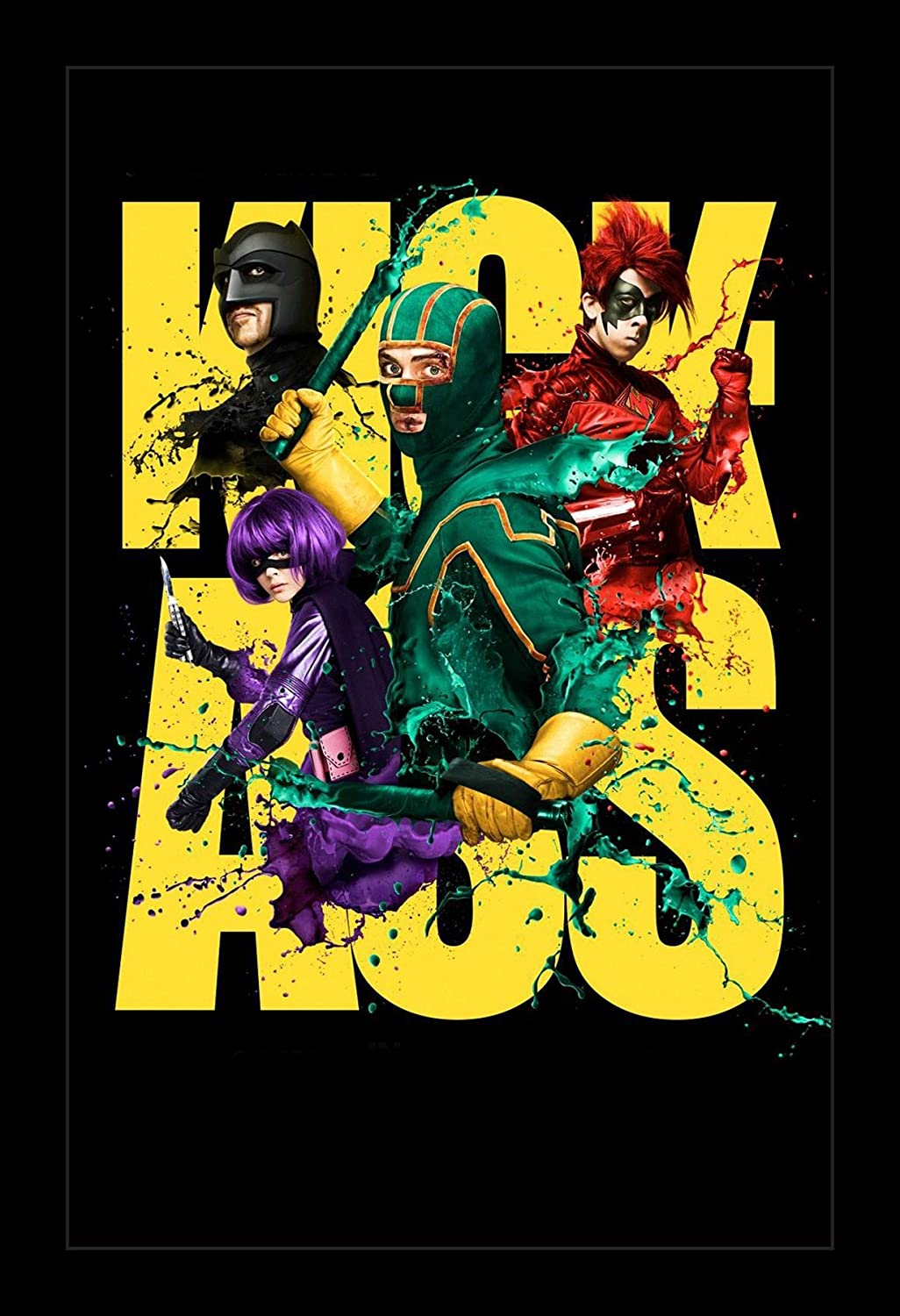 Kick-Ass - 11x17 Framed Movie Poster by Wallspace