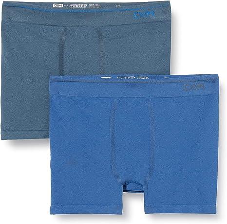 Unno DIM Basic Sin Costuras Algodón Bóxer (Pack de 2) para Hombre ...