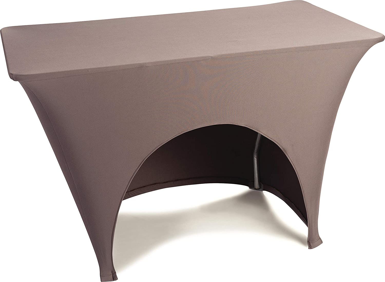 Carlisle Embrace Four-Way High Top Round Stretch Fitted Table Cover