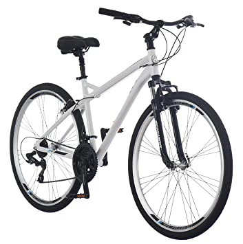 700c Hybrid Bike Steel Frame Adult Bicycle Comfort Padded Seat Exercise Road