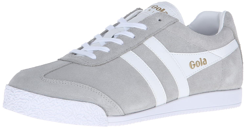 Gola Men's Harrier Fashion Sneaker B014QRA6HE 7 UK/8 M US|Grey/White