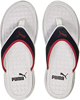 9a28205f8a3a Puma Men s Lycus Peacoat-High Risk Red-White Hawaii House Slippers ...
