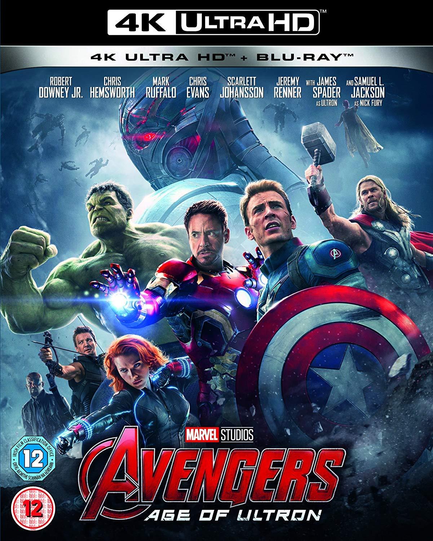 Amazon com: Avengers Age Of Ultron [4K UHD + Blu-ray] [2018] [Region