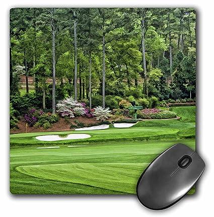 3dRose LLC 8 X 8 X 0.25 Inches Mouse Pad, Amen Corner In Augusta Georgia
