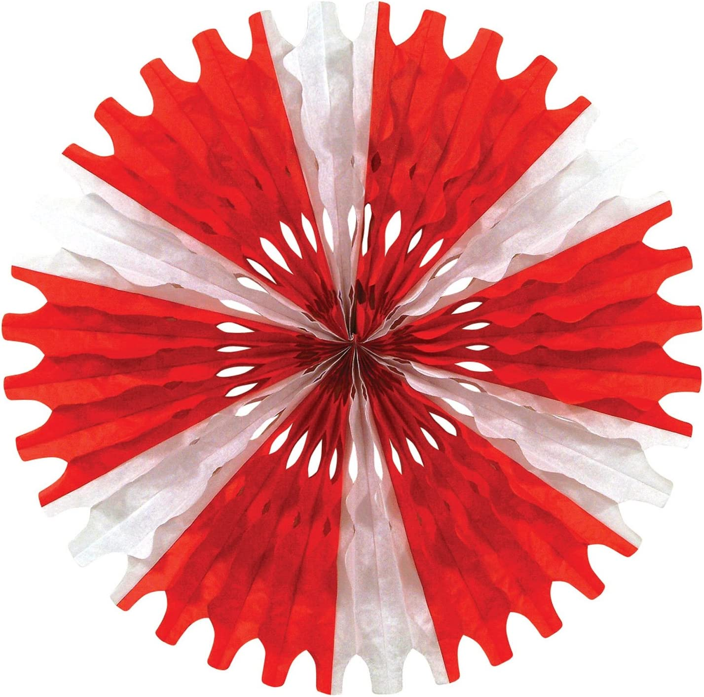 Blush Pink 25 Beistle 55293-BP 3 Pieces Tissue Fans 25