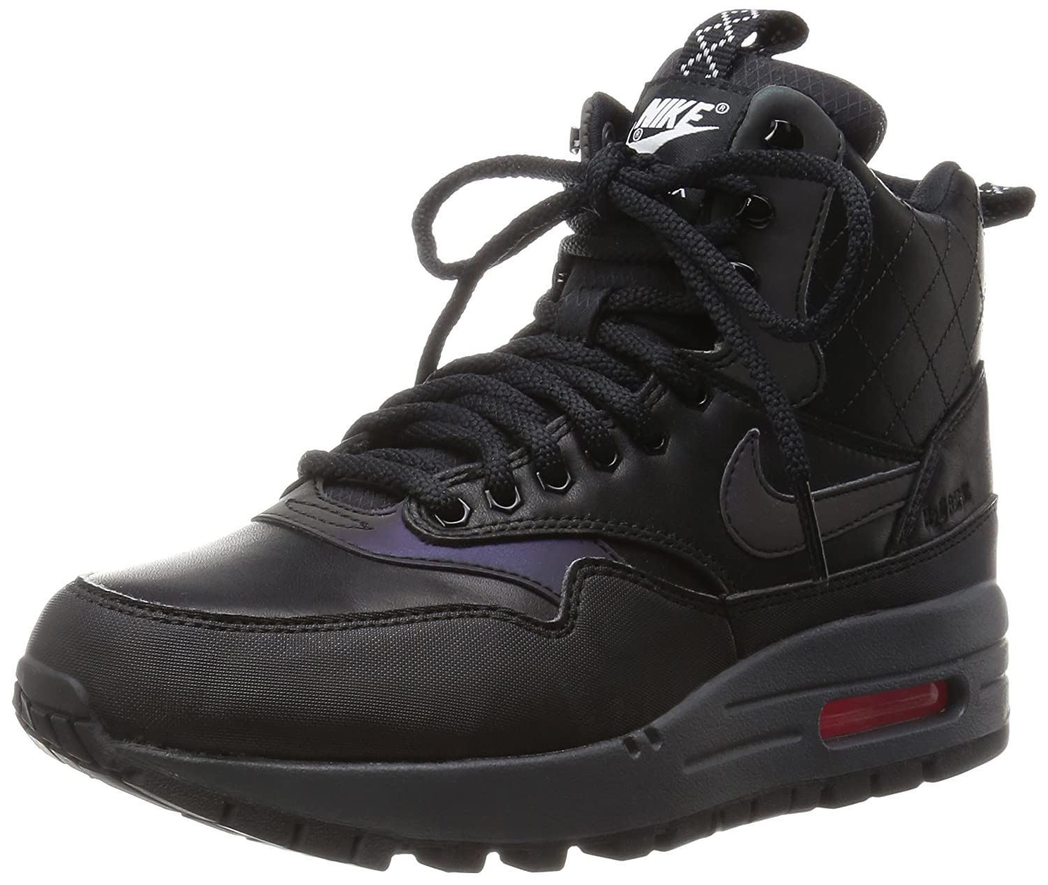 2f4bf740df Amazon.com | Nike Women's Air Max 1 Mid Sneakerboot Reflect | Fashion  Sneakers