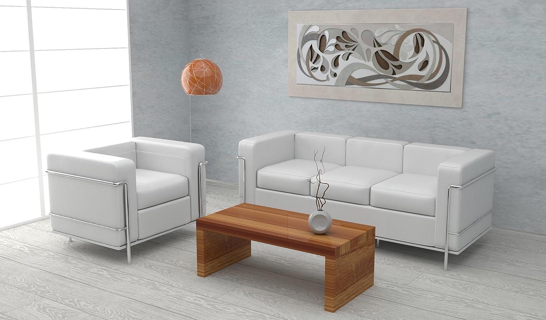 Tavolino basso da salotto moderno Design Colore Legno: Amazon.it ...