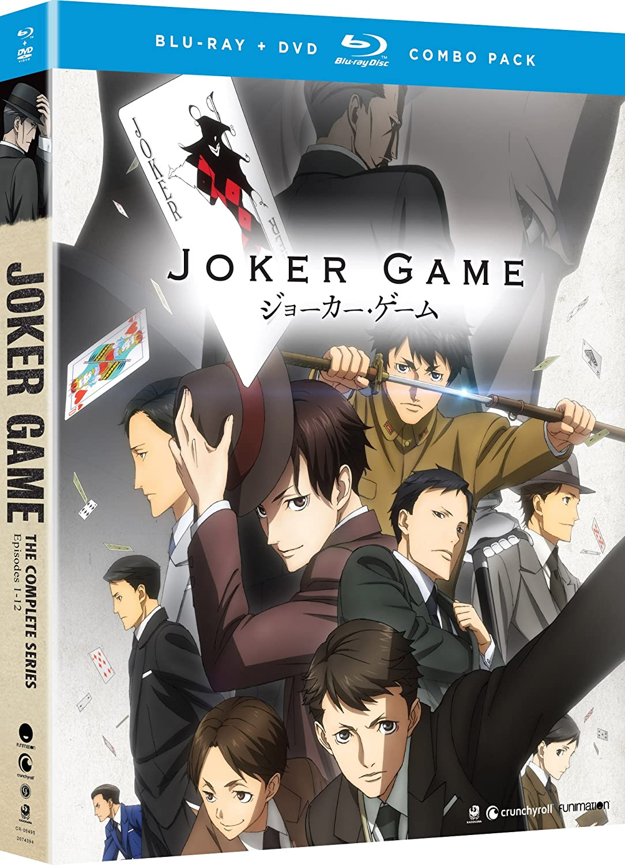 Amazon com joker game the complete series blu ray bill jenkins christopher wehkamp brad hawkins joel mcdonald movies tv