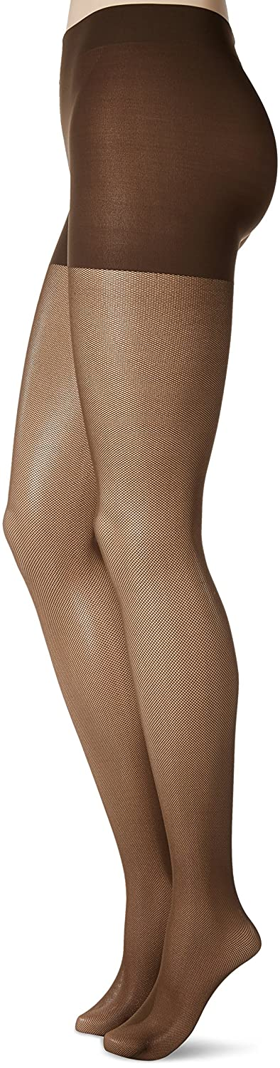 fc326cfe2b3 Hanes Silk Reflections Women s Perfect Nudes Micro-net Control Top Pantyhose  at Amazon Women s Clothing store