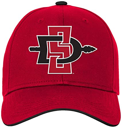 low priced c6b69 8efbb NCAA by Outerstuff NCAA San Diego State Aztecs Kids   Youth Boys Basic  Structured Adjustable Hat