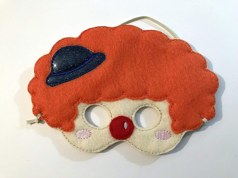 Kids Felt Clown Mask