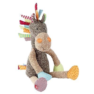 Sigikid 38371, fille et garçon, peluche cheval patchwork Sweety