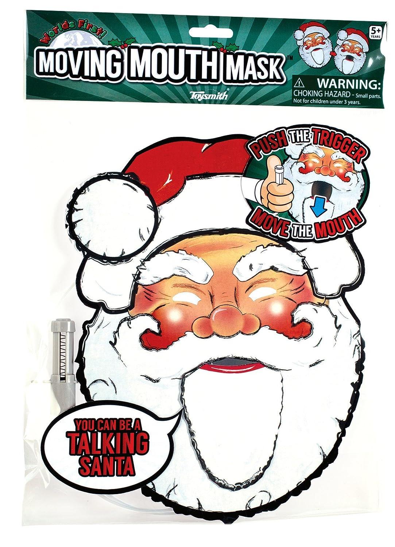 Santa Pro-Motion Distributing Direct TSM7815 Toysmith Moving Mouth Masks