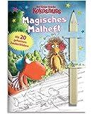 Der kleine Drache Kokosnuss - Magisches Malheft mit Bleifstift