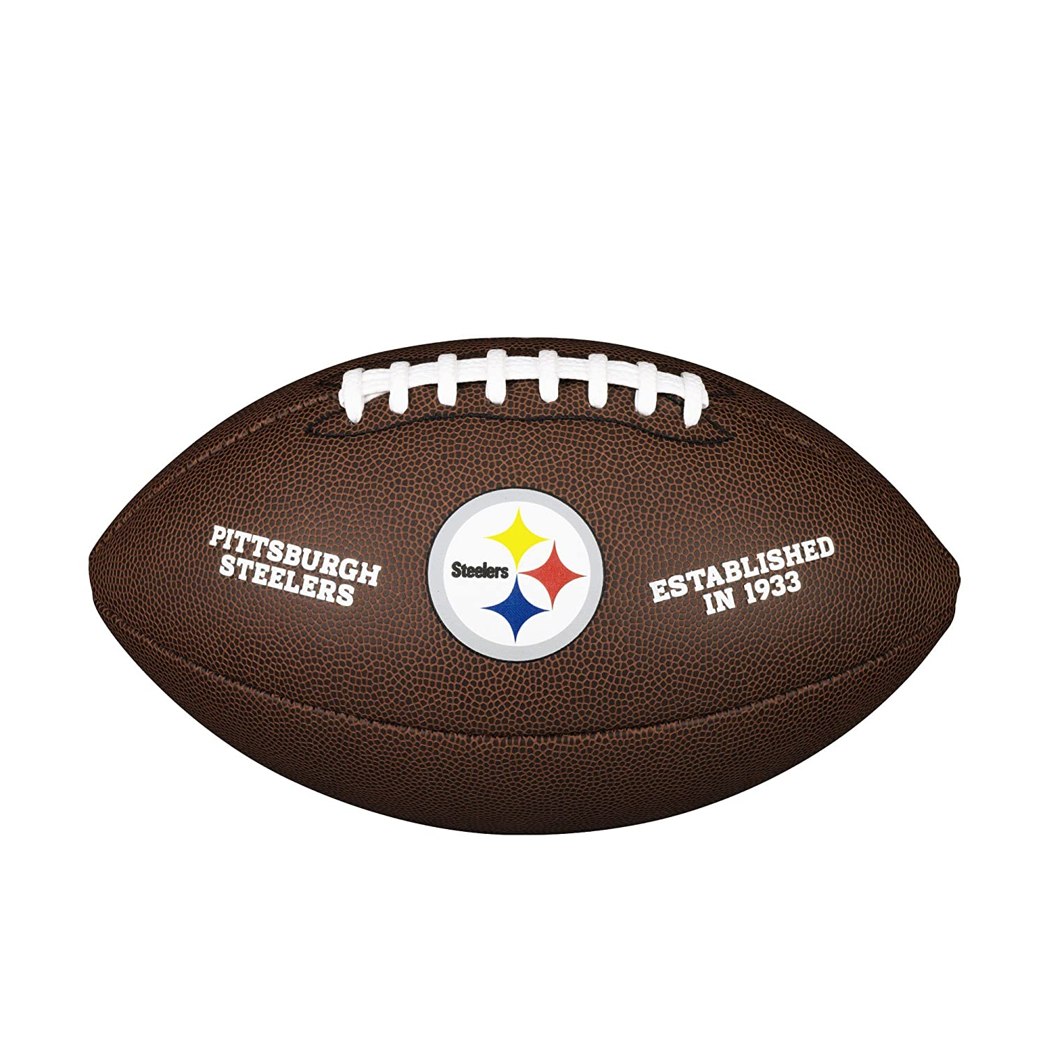 Wilson Pittsburgh Steelers Logo Official Football WTF1748PITT