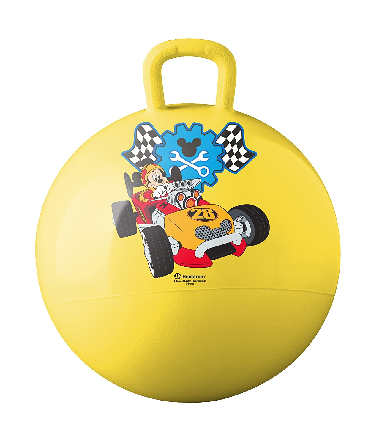 Hedstrom Mickey Mouse Roadster Racers Hopper Ball Hop Ball For Kids 15 Inch