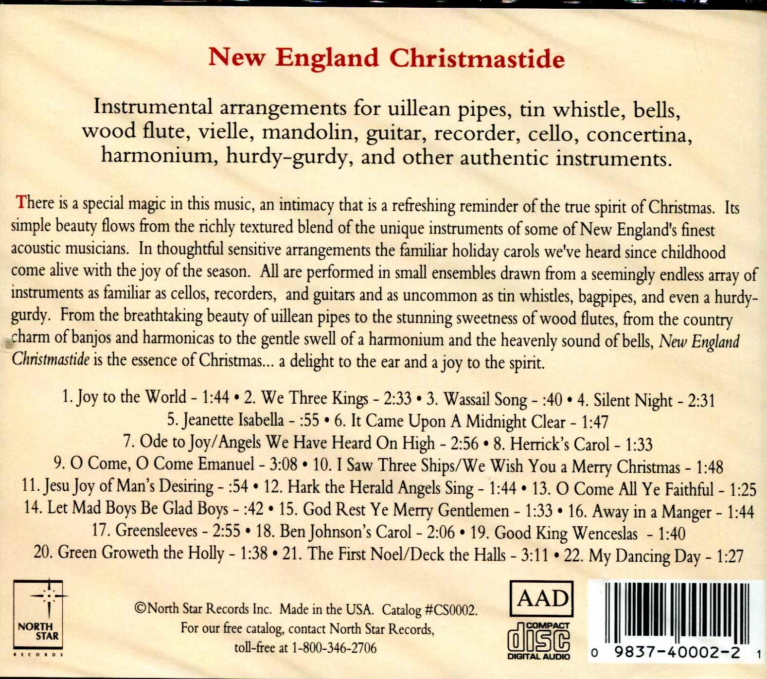 New England Christmastide by North Star