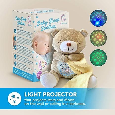 Amazon.com: Baby Sound Machine - Teddy Bear Lullaby White ...