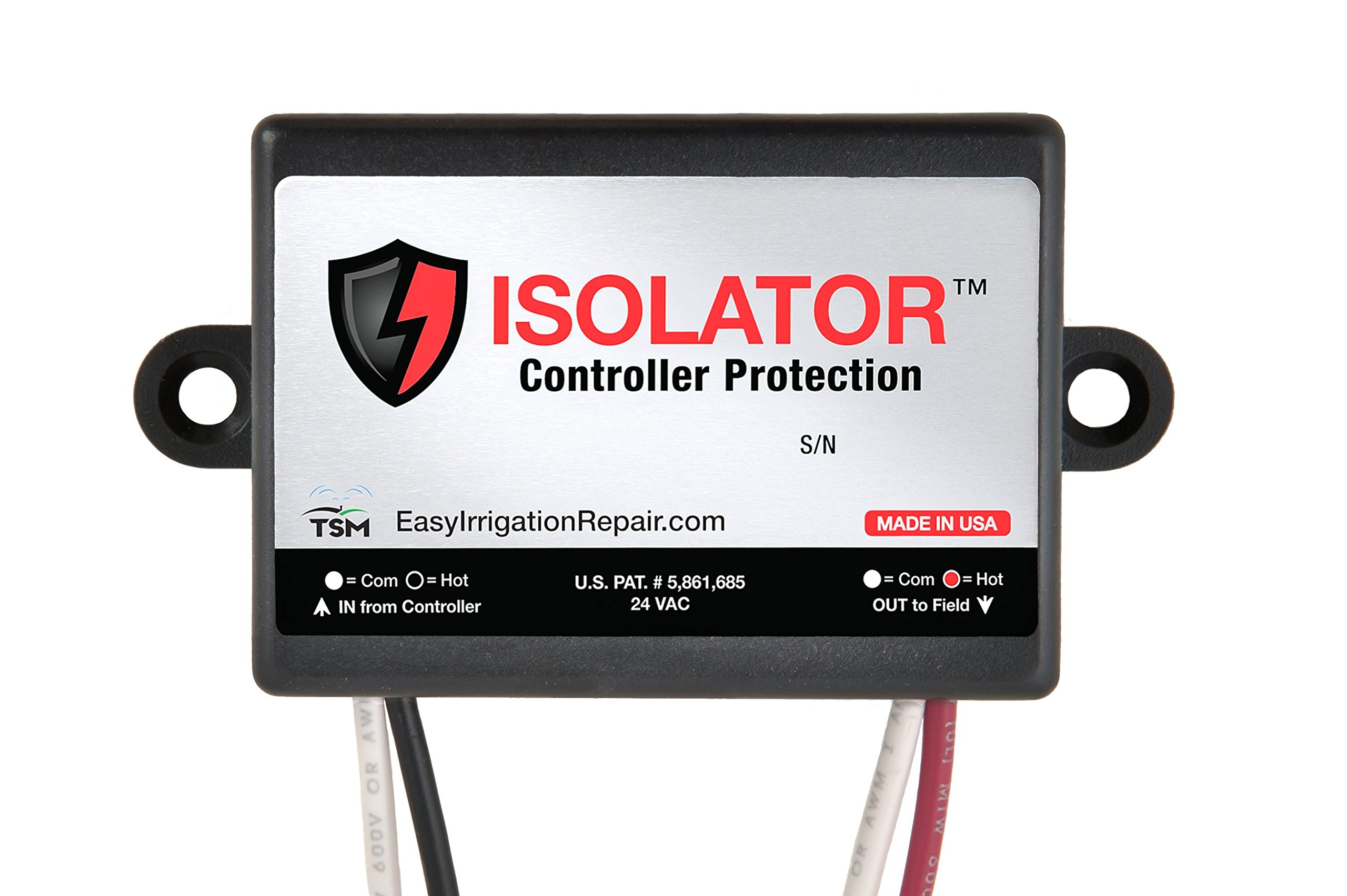 ISOLATOR - Irrigation Controller Protection / Protect Multi-controller Systems From Interconnection Issues