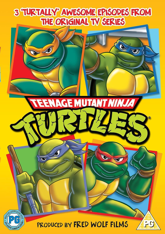 Teenage Mutant Ninja Edizione: Regno Unito Reino Unido DVD ...