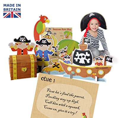 Lello & Monkey Pirate Treasure Hunt Party Game for kids