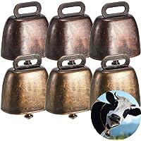 Ripeng Cow Horse Sheep Grazing Copper Bells Small Brass Bells Cattle Goat Farm Loud Bronze Bell Long Distance Horse…