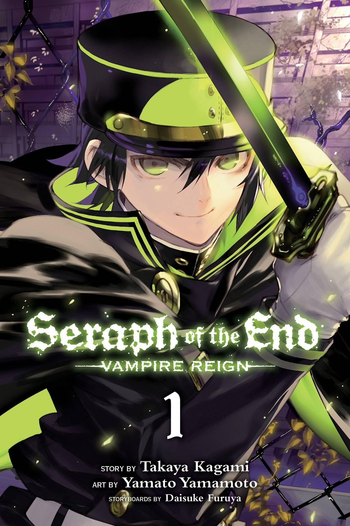 1: Vampire Reign: Takaya Kagami, Daisuke Furuya, Yamato Yamamoto:  9781421571508: Amazon: Books