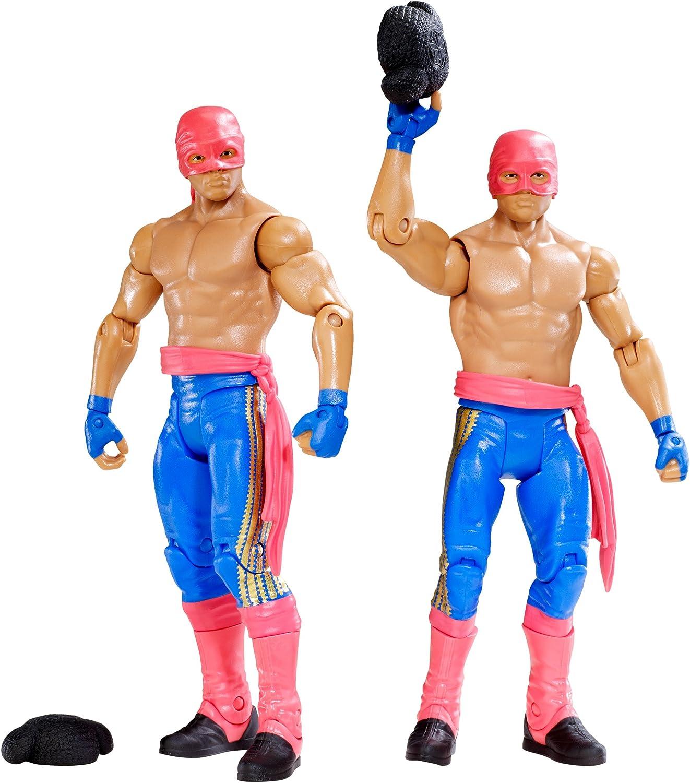 WWE Battle Pack: Los Matadores Diego vs. Fernando with 2 Hats Figure (2-Pack) by Mattel: Amazon.es: Juguetes y juegos