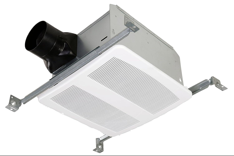 STERLING Ultra Quiet 80 CFM Ceiling Mount Bathroom Exhaust Fan ...