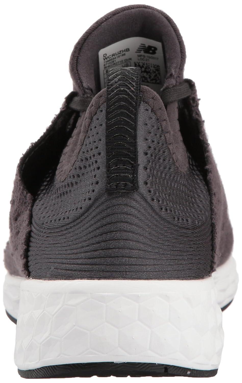 New Balance Women's Fresh Foam Cruz V1 Retro Hoodie Running Shoe B06XSF44B3 8.5 D US|Black/Phantom
