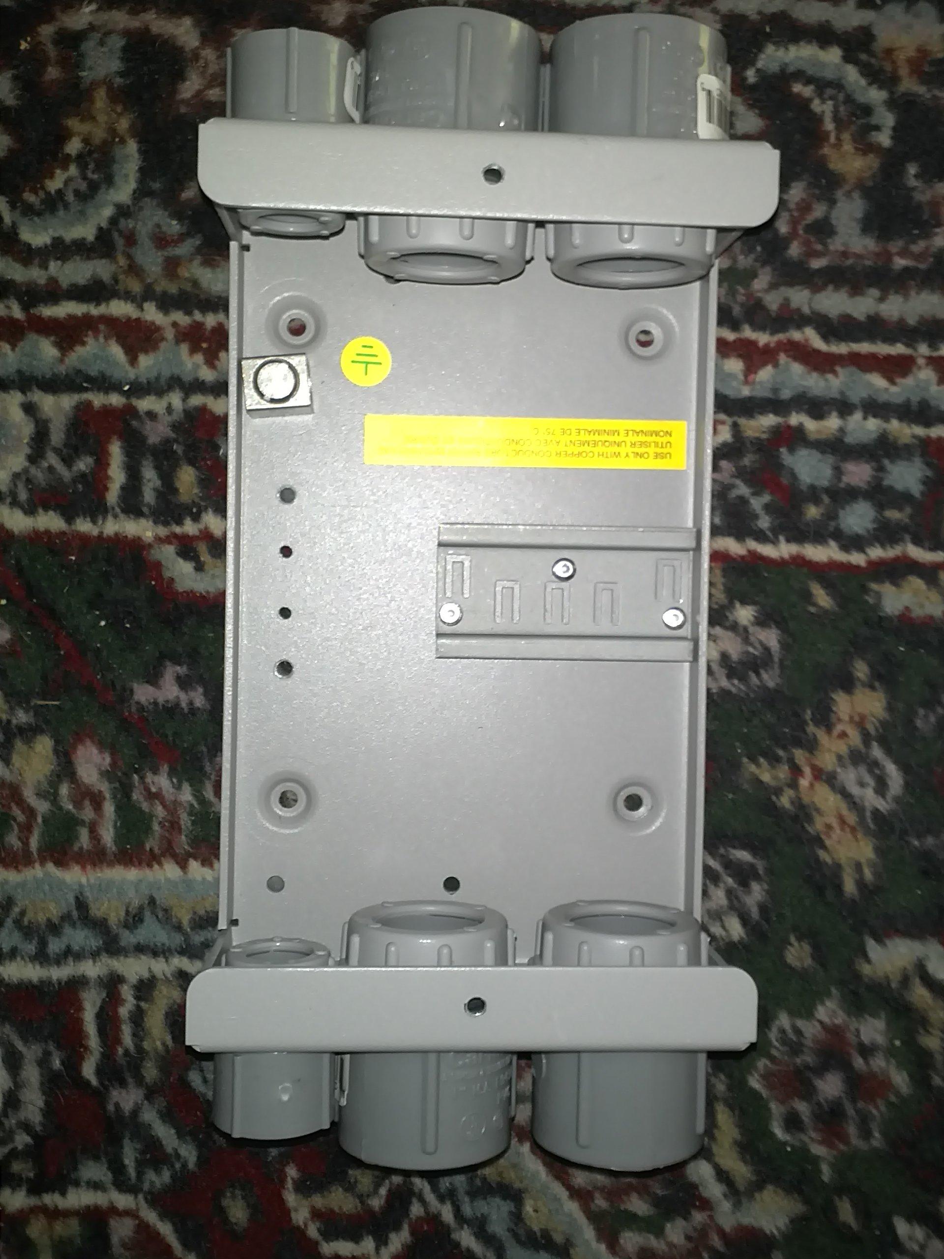 Midnite Solar 4-Position DC Circuit Breaker, Model# Big Baby Box