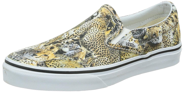 Vans U Classic Slip-on, Unisex-Erwachsene Sneakers  38 EU|Leopard