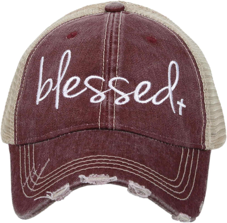 KATYDID Blessed Baseball Cap - Trucker Hat for Women - Stylish Cute Ball Cap