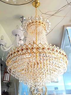 Buy (600mm)jhoomer ceiling light decorative chandelier with three ...