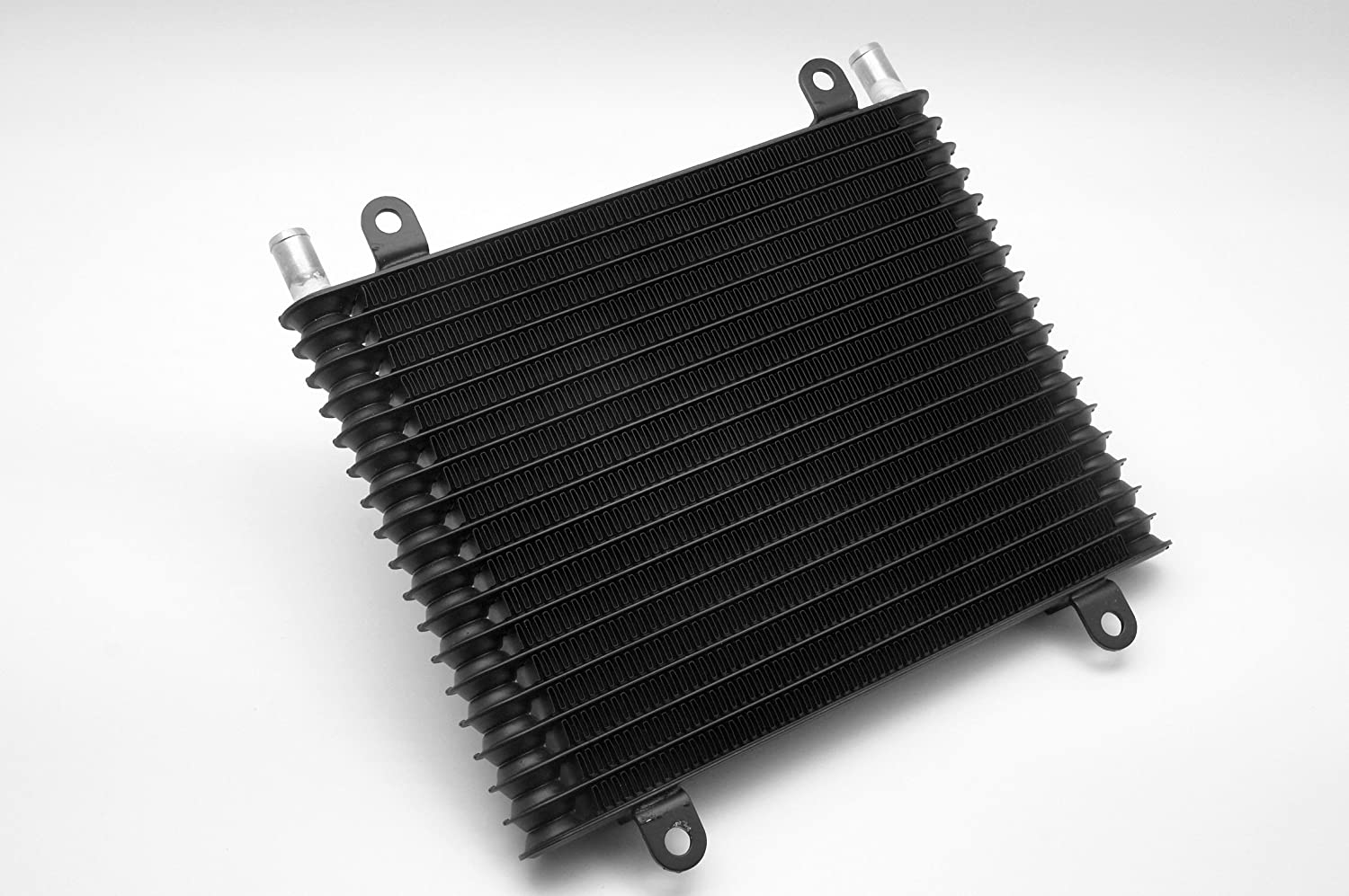 16mm Barb Ports Compact Core Size 12x8.8x1.26 Black Autobahn88 Universal Oil//Automatic Transmission Fluid ATF Cooler 300x225x32mm 18 Rows