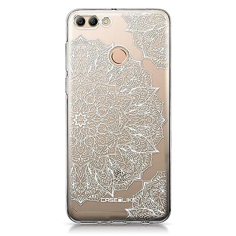 CASEiLIKE® Funda Huawei Y9 2018, Carcasa Huawei Y9 2018, Arte de la Mandala 2091, TPU Gel Silicone Protectora Cover