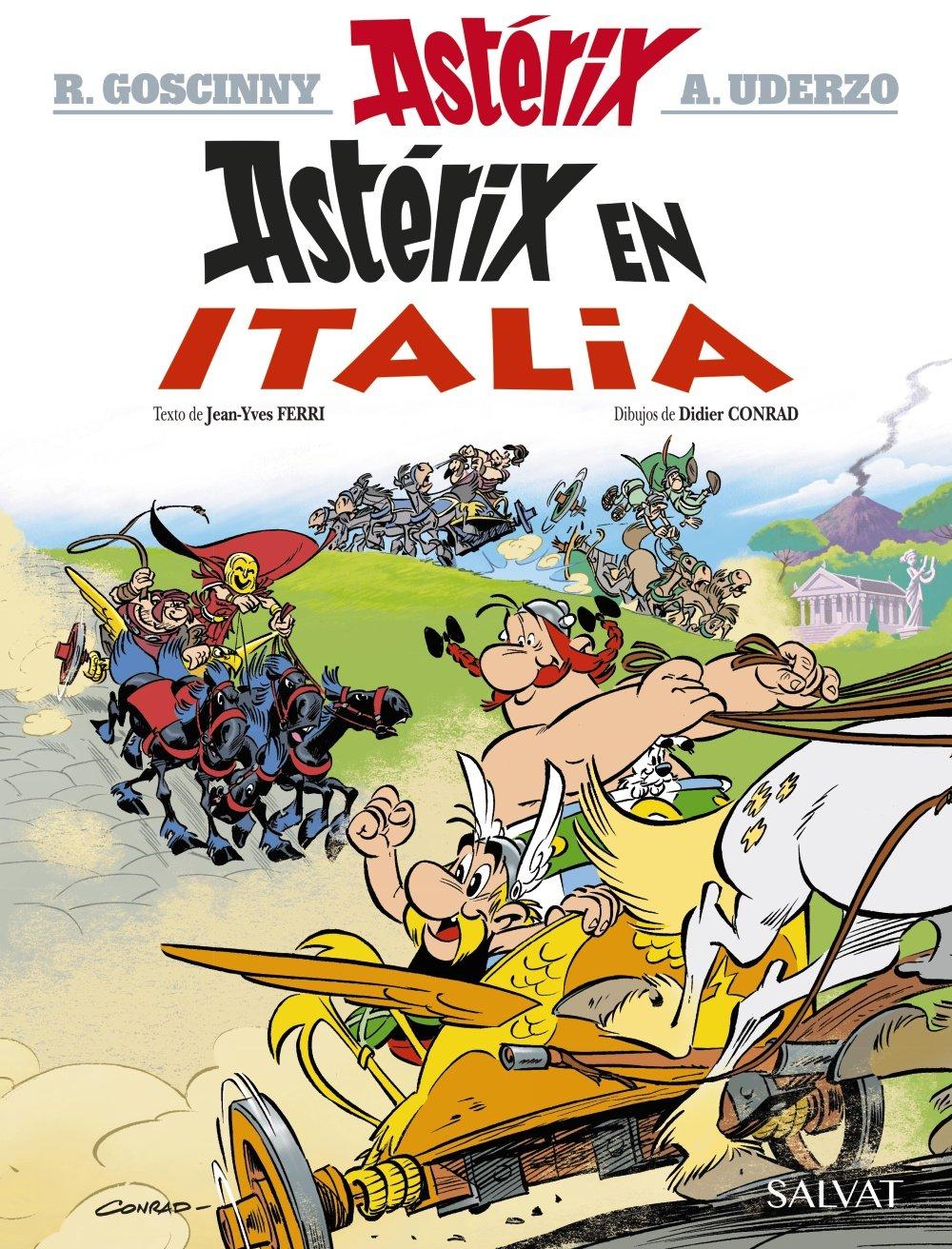 Astérix en Italia Castellano - A Partir De 10 Años - Astérix - La Colección  Clásica: Amazon.es: René Goscinny, Jean-Yves Ferri, Albert Uderzo, Didier  Conrad ...