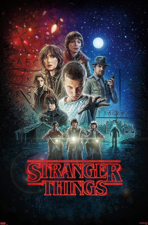 "Trends International 24X36 Netflix Stranger Things - One Sheet, 24"" x 36"", Unframed Version"